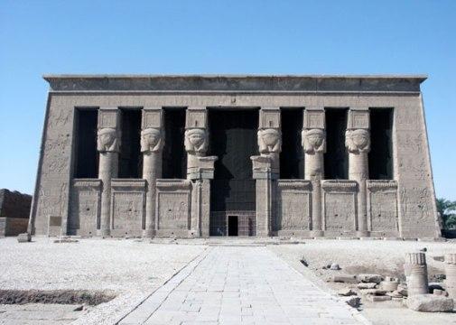 Temple Dendérah définition  dans Archéologie dendrah08