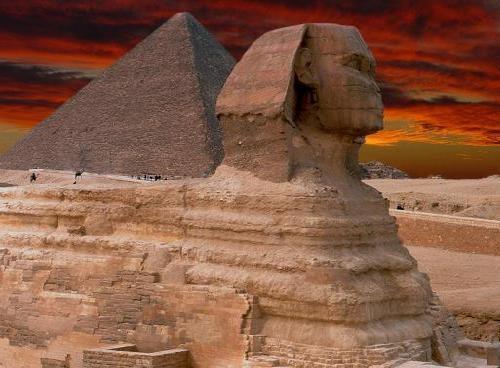 Sphinx de Gizeh définition + 3 vidéos dans Archéologie sphinx02