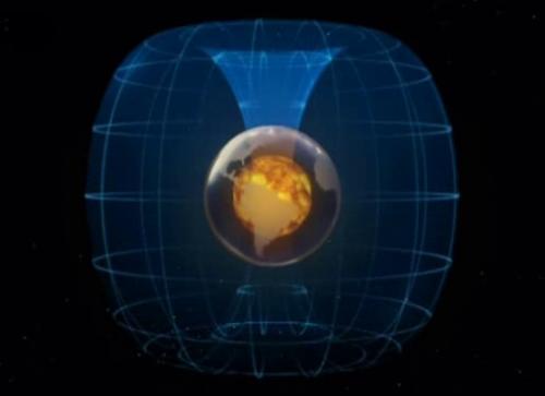 Inversion du champ magnétique terrestre définition + 3 vidéos dans Astronomie polesmagnetique02